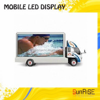 P10 Full Color Outdoor Advertising Led Screen P10 Full ColorTruck Mobile Led Video Display Truck Led Display,Mobile Stage used