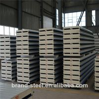 perfect isolation attribute hot sale pu sandwich wall panel price