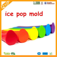 Silicone Ice Cream Maker Popsicle Molds with Lid Novelty Frozen Model Ice Cube Tray