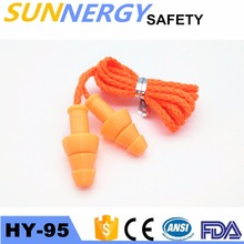 noise cancellation silicone earplugs