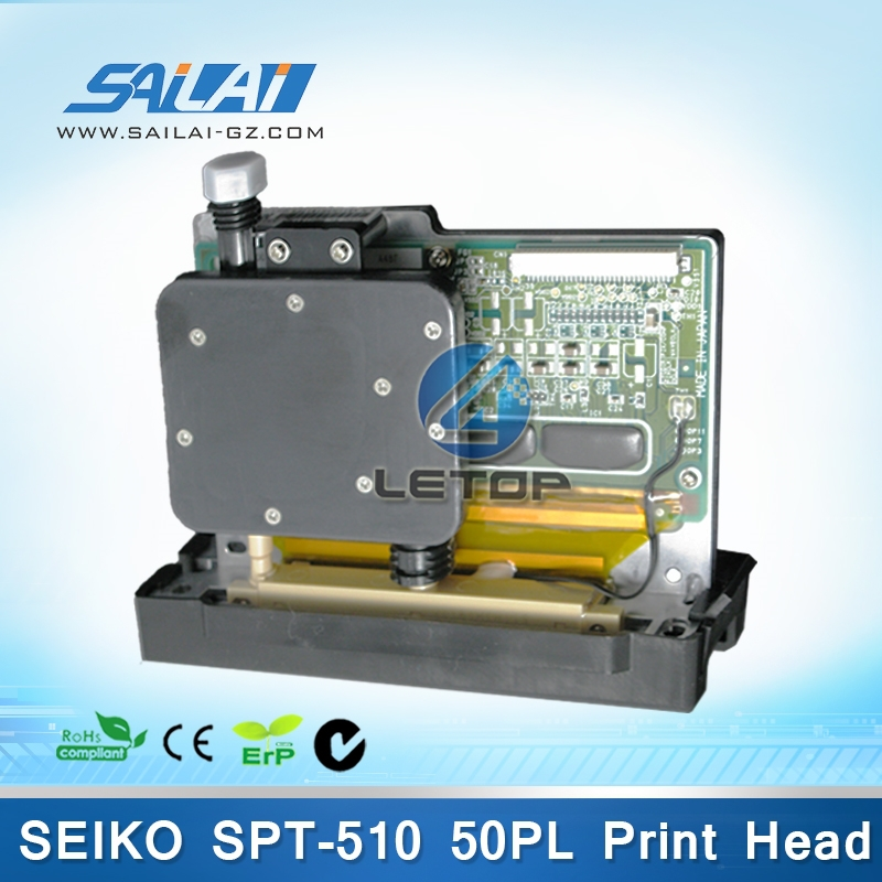 nozzle assembly solvent ink printer printhead for seiko spt 510