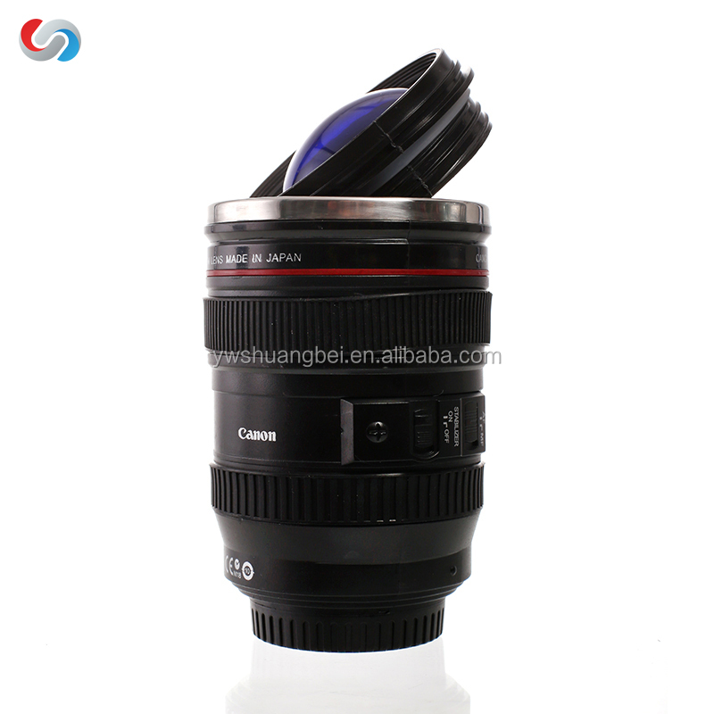 Simulation Lens (EF24-105mm F/ 4 USM) Coffee Cup Mug, Stainless steel liner for Promotion Gift