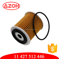 High quality filter paper imported filter paper automotive oil filter 11 427 512 446,OX175 for BMW CHRYSLER MINI