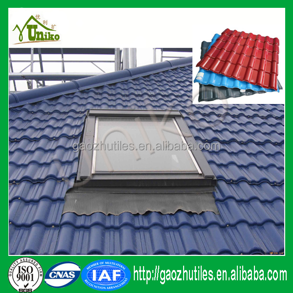 Villa Roof Sheds Shingle Corrugated Synthetic Resin Roof