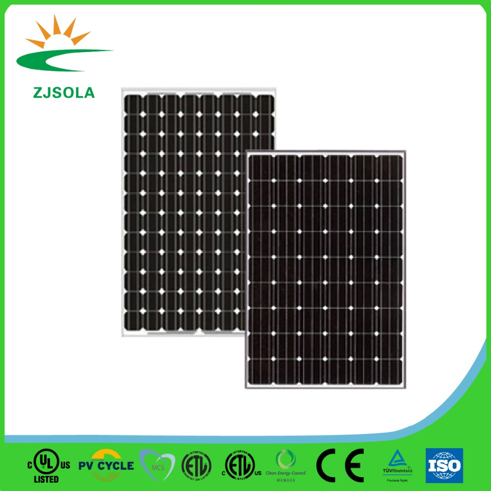 ZJSOLA high efficiency 200W/250W/300W/310W/320w/340w /500w/1000w solar Panel solar cell flexible