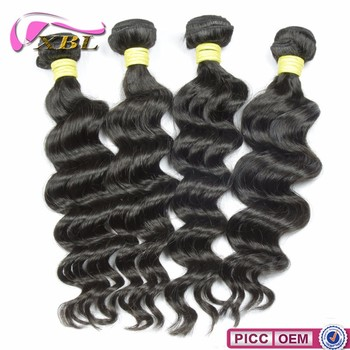 New Loose Body Hair Style Virgin Peruvian 8A Grade Human Hair Weave