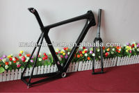 2014 hot brand new road racing carbon frame 700c full carbon road racing frame set competitive price carbon fiber cycling frame