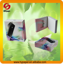 Cell phone packaging paper box case