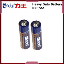 Carbon zinc dry Cell OEM Welcome Extra Heavy Duty AA Battery R6P 1.5V