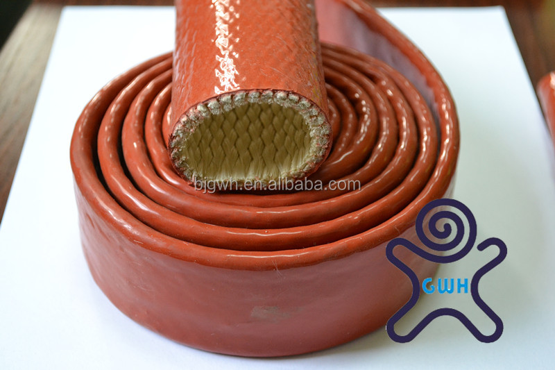 Silicone Rubber Coated Fire Sleeve