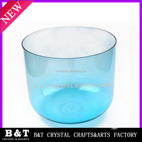2015 wholesle Seven colorful chakras quartz crystal singing bowls BNTCH 079