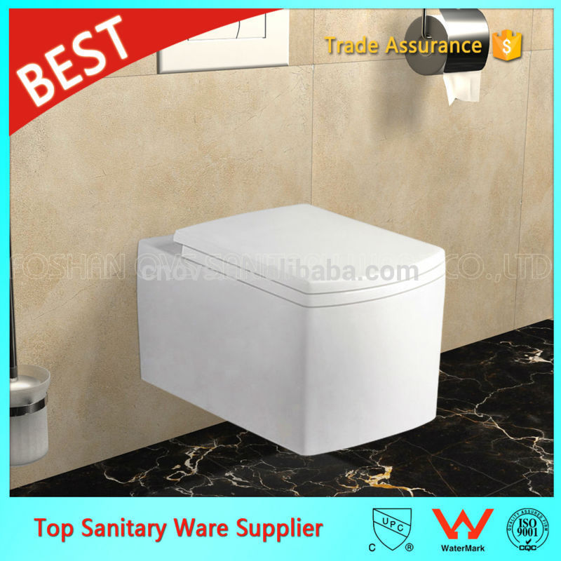 wall hung ceramic toilet wc sizes