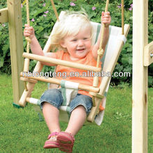 Safe Infant to Toddler Swing/Deck Chair Baby Swing Seat