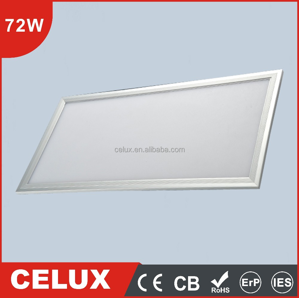72w led panel flat panel led lighting 2x4 led ceiling panel lighting