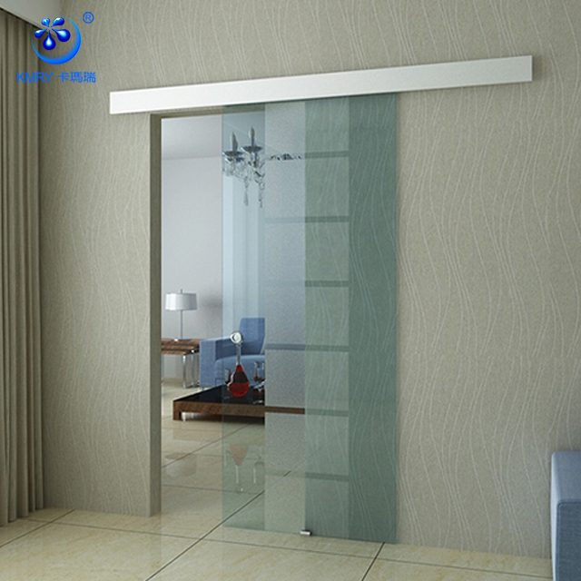 Barn Door Sliding Frosted Glass Interior Doors(KT9001)