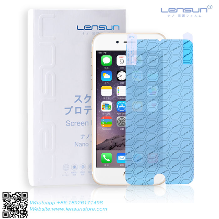 LENSUN NANO Soft Explosion-proof Anti-Glare High Clear Touch Screen Glass Film For Infocus M2