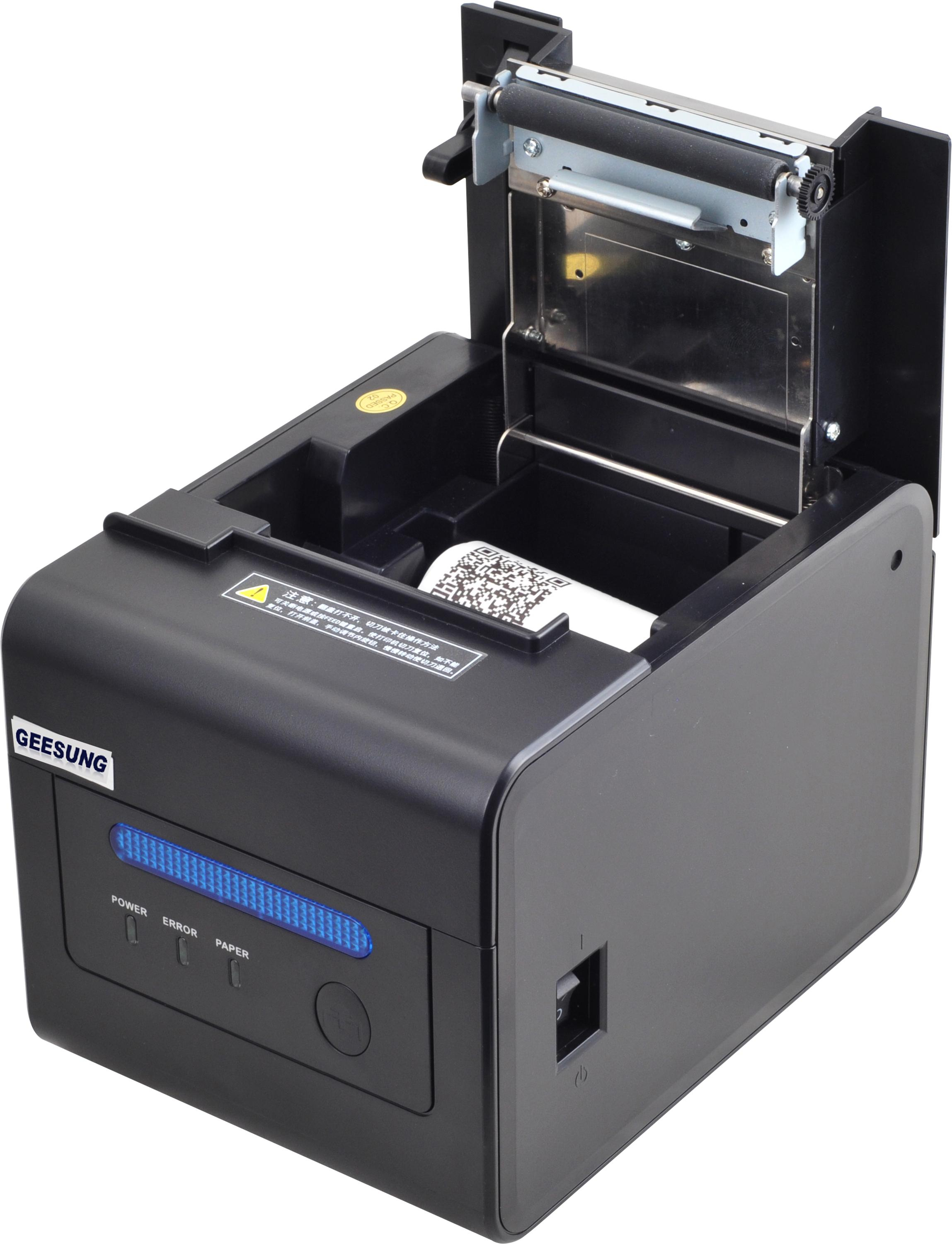 58/80mm thermal printer Built-in Big Alarm waterproof,dust-resistive and anti-oil,suitable for kitchen
