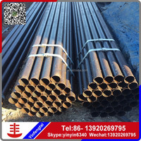 Round steel Pipe ASTM A106 Grade B carbon seamless steel pipe