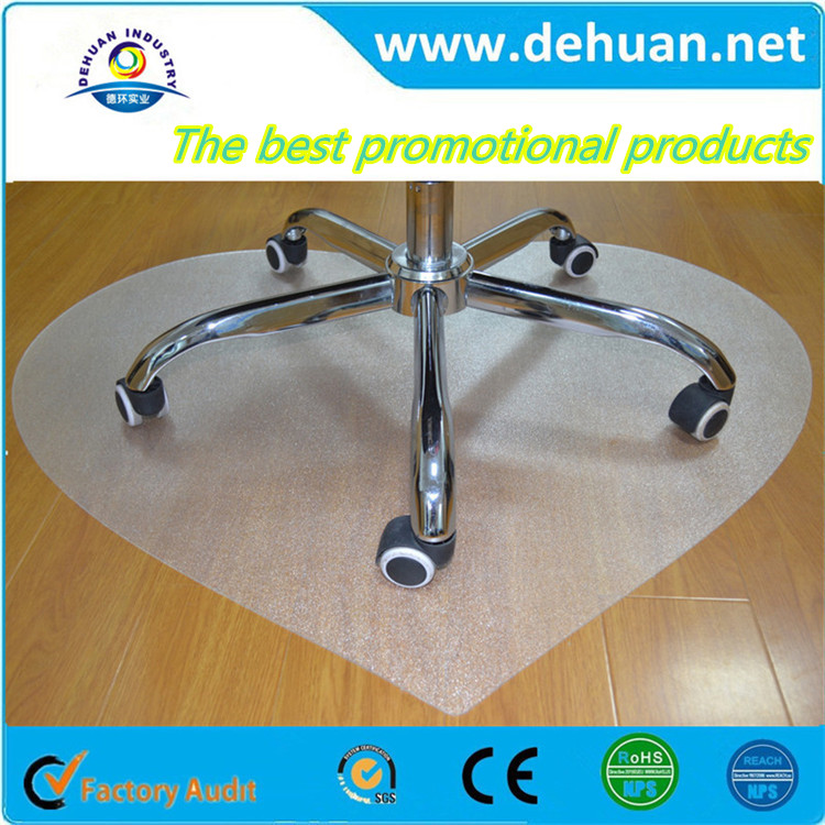 Promotional anti-slip clear clear plastic floor mats