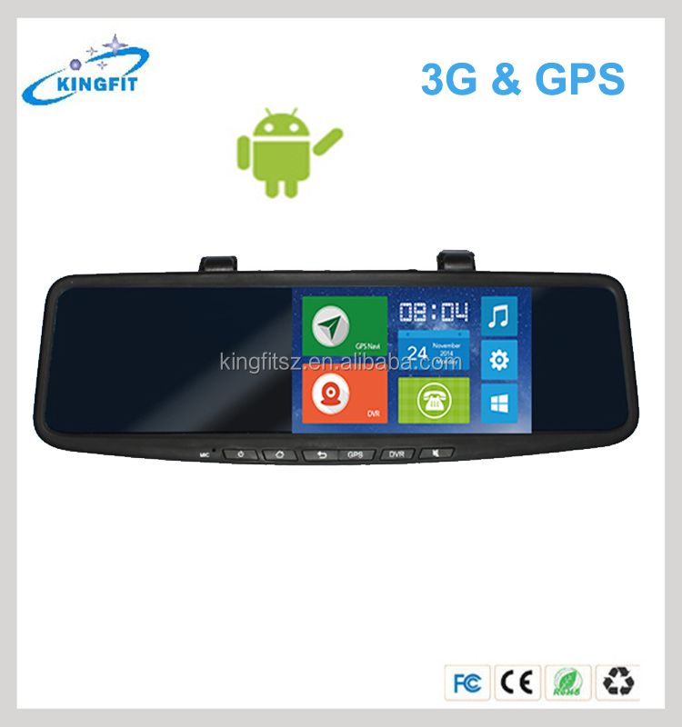 5 inch Android 3G Sim Bluetooth Calling Car DVR Dual Camera