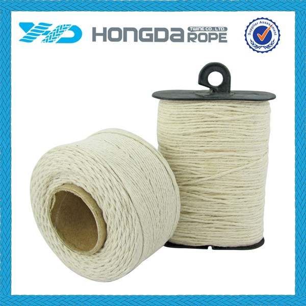 Multi- purpose natural color household cotton twine for craft supplies