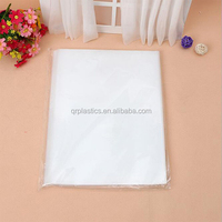 transparent BOPP/LPDR clear cello resealable plastic bag for food/gift/bread packaging