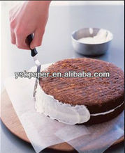 greaseproof paper used as cake paper pad