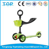 2015 Expressar New 3 IN 1 Kids Mini Scooter Push Bike , 3 Wheel Kids Kick Scooter For Sale