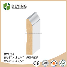 Primed MDF moulding skirting board price