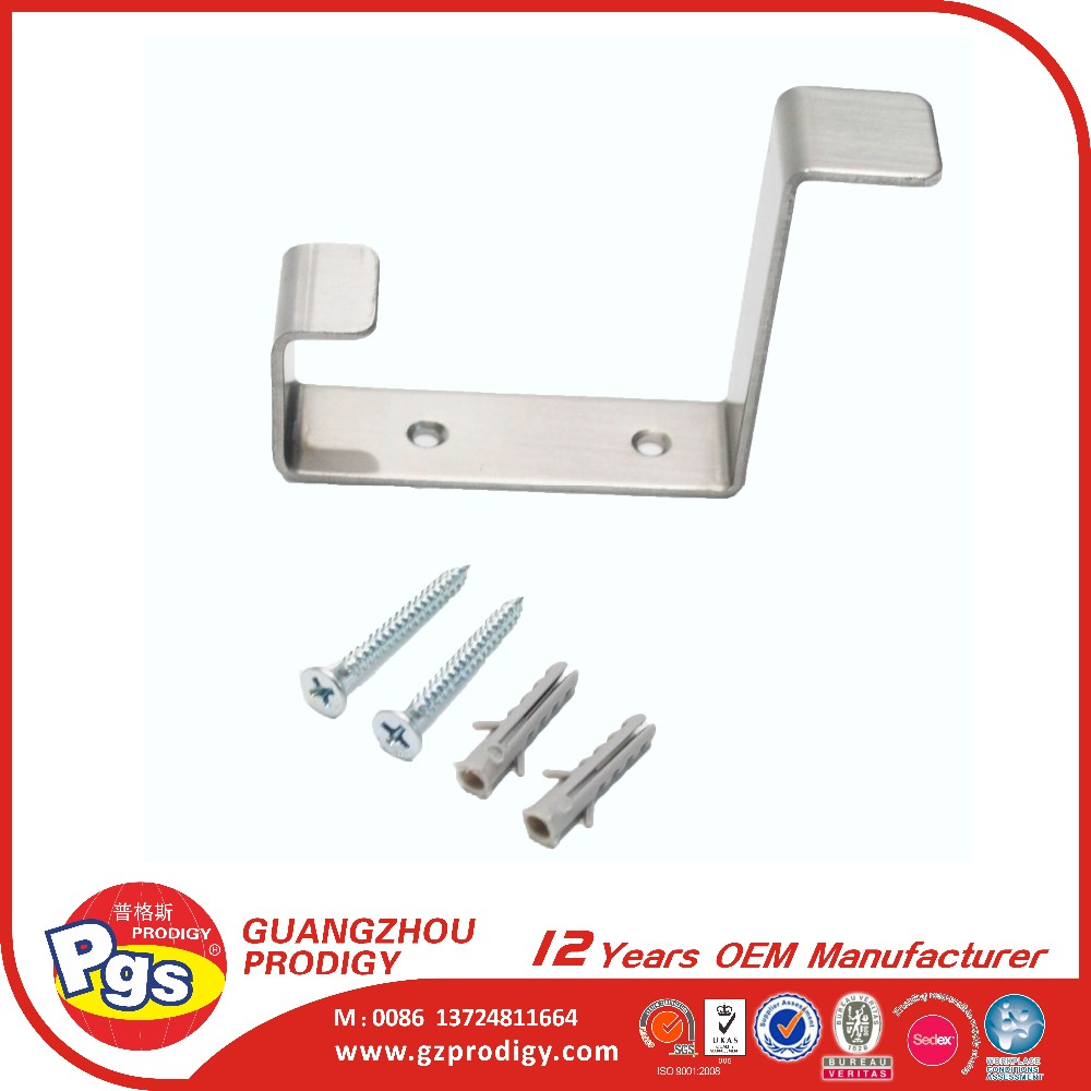 Household items heavy duty screw on bathroom hanger hook