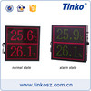 TINKO TH64A Ceiling/wall Mount Temperature Humidity Date Time Display Unit, Digital Room Temperature Indicator