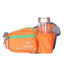 waist bag with mobile phone water bottle holder multifunction outdoor travel sports