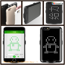 Smart iPhone6/6s shell Phone protective case Intelligent Dot matrix message display
