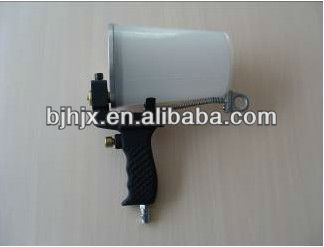 Portable resin spray gun gelcoat