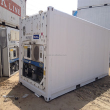 supply used 20RF shipping standard reefer container