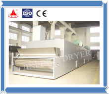 DW Continuous Belt Conveyor Mesh Dryer Equipments For corn starch