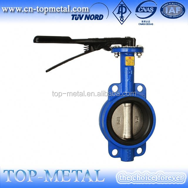good semi stem full lug type butterfly valve