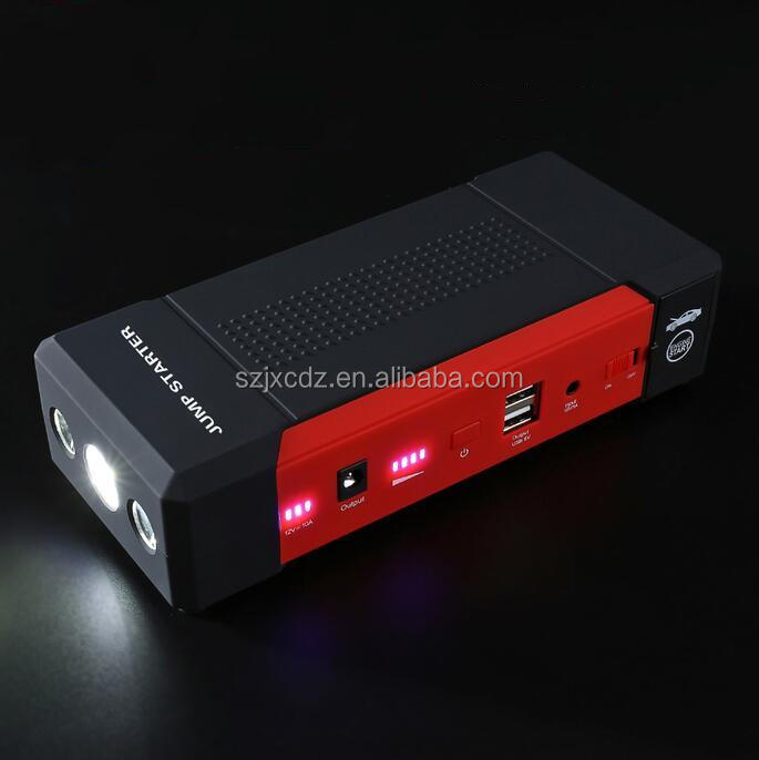 Car assessories battery charger booster cable car jump starter 800A 21000mah