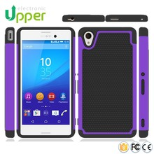 New high quality bumper rubber smart phone covers skin mobile accessories parts fancy case for sony xperia m4 aqua