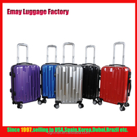 Fashionable New design ABS PC Trolley Luggage Traveling Bags