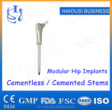 Modular Hip Joint Prosthesis Implants , Cemented / Cementless Stem , Hip Replacement