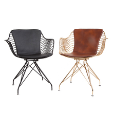 Metal Dining Chairs With Cushion ,Metal Chairs for Restaurant