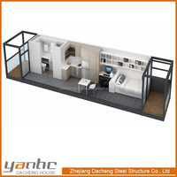 Prefabricated Lovely Design Container House for USA Clients