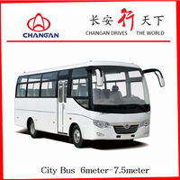 91-111km/h speed coaster bus The best CHANGAN SC6736 used bus price