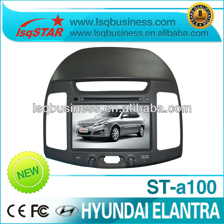 Car MP3 player for Hyundai Elantra new with GPS USB DVD Bluetooth MP4 SD Radio TV, ST-A100
