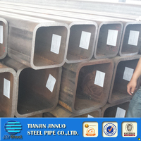 rhs steel square hollow section steel pipe 225*225 rectangular thick wall metal tube
