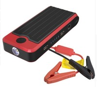 Car Emergency Battery Jump Starter and Rechargeable External Device Portable Vehicle Power Bank Charger 12000mah