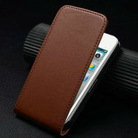 mobile phone case for iphone4s clean pure leather