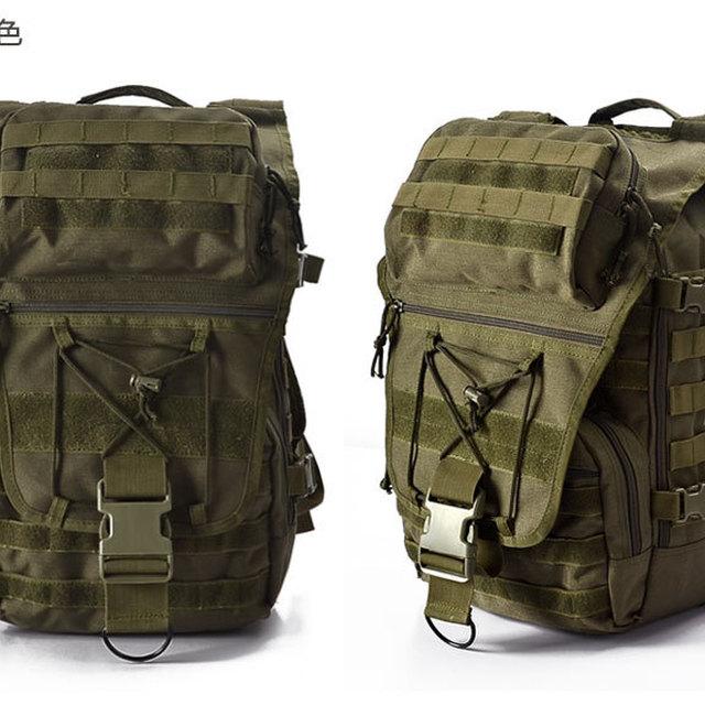 woodland hiking backpack kryptek camouflage fabric