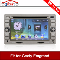 Bway car audio player for Geely EMGRAND car dvd 256 MB RAM with GPS,Radio,bluetooth,USB/SD slot,steering wheel